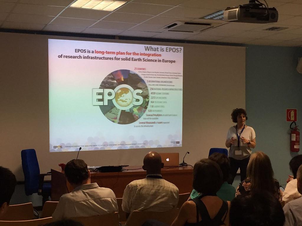 GSO - EPOS presentation @ INGV - Oss. Vesuviano 16 05 2017