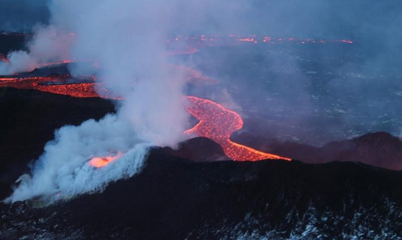Image credit: Bárðarbunga, photographer: Morten S. Riishuus, 10 January 2015