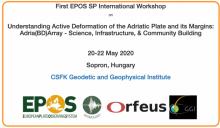 EPOS SP / AdriaArray international workshop