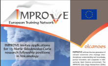 IMPROVE (Innovative Multi-disciplinary European Research training network on VolcanoEs) is opening 15 positions in volcano science