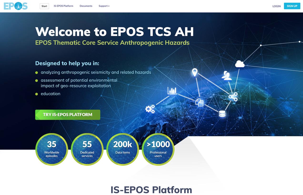 TCH AH web page: https://tcs.ah-epos.eu