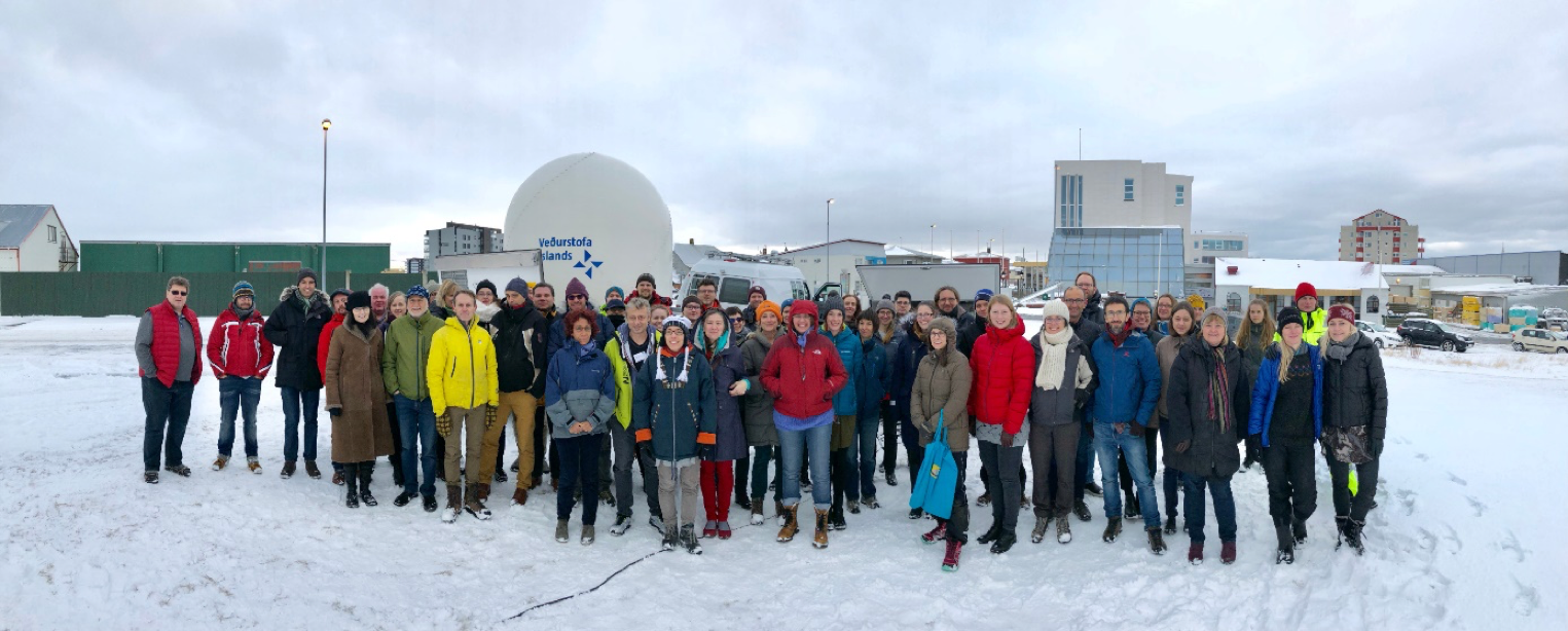 EUROVOLC participants at the kick-off meeting in Iceland